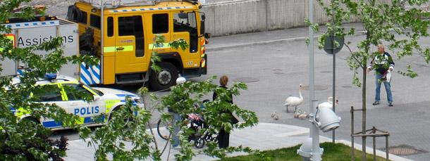 Celebert besök på Hammarbyterrassen